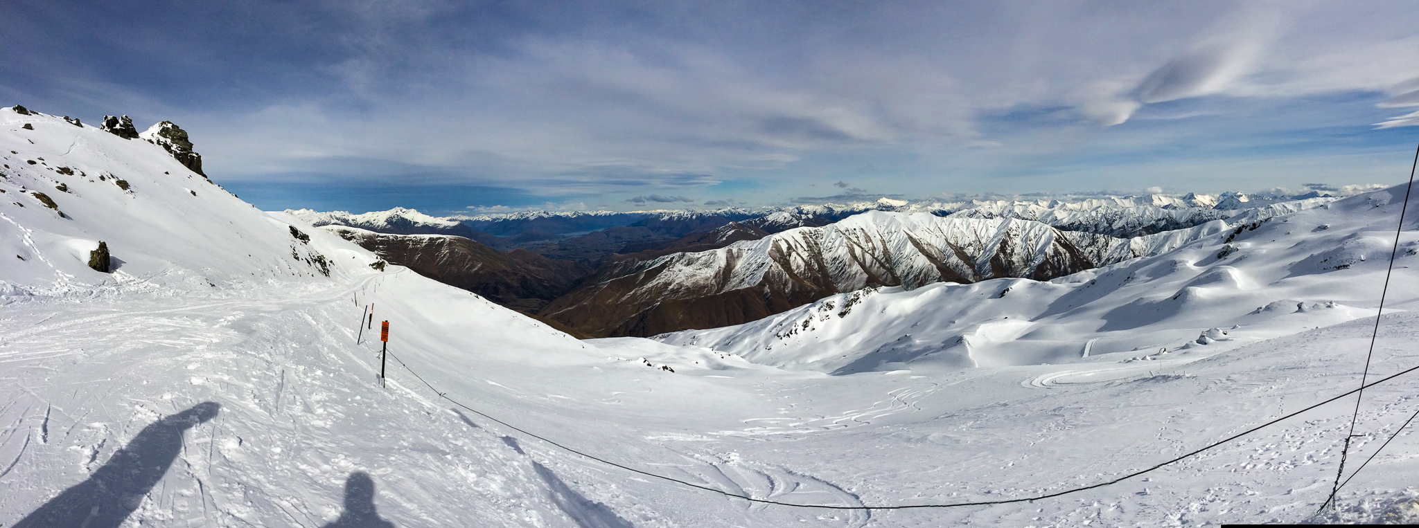 Cardrona Alpine Resort from the top