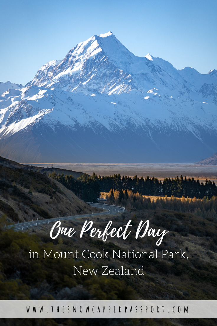 Explore Mount Cook National Park in one perfect day. Walk the Hooker Valley Track to the base of Mount Cook / Aoraki