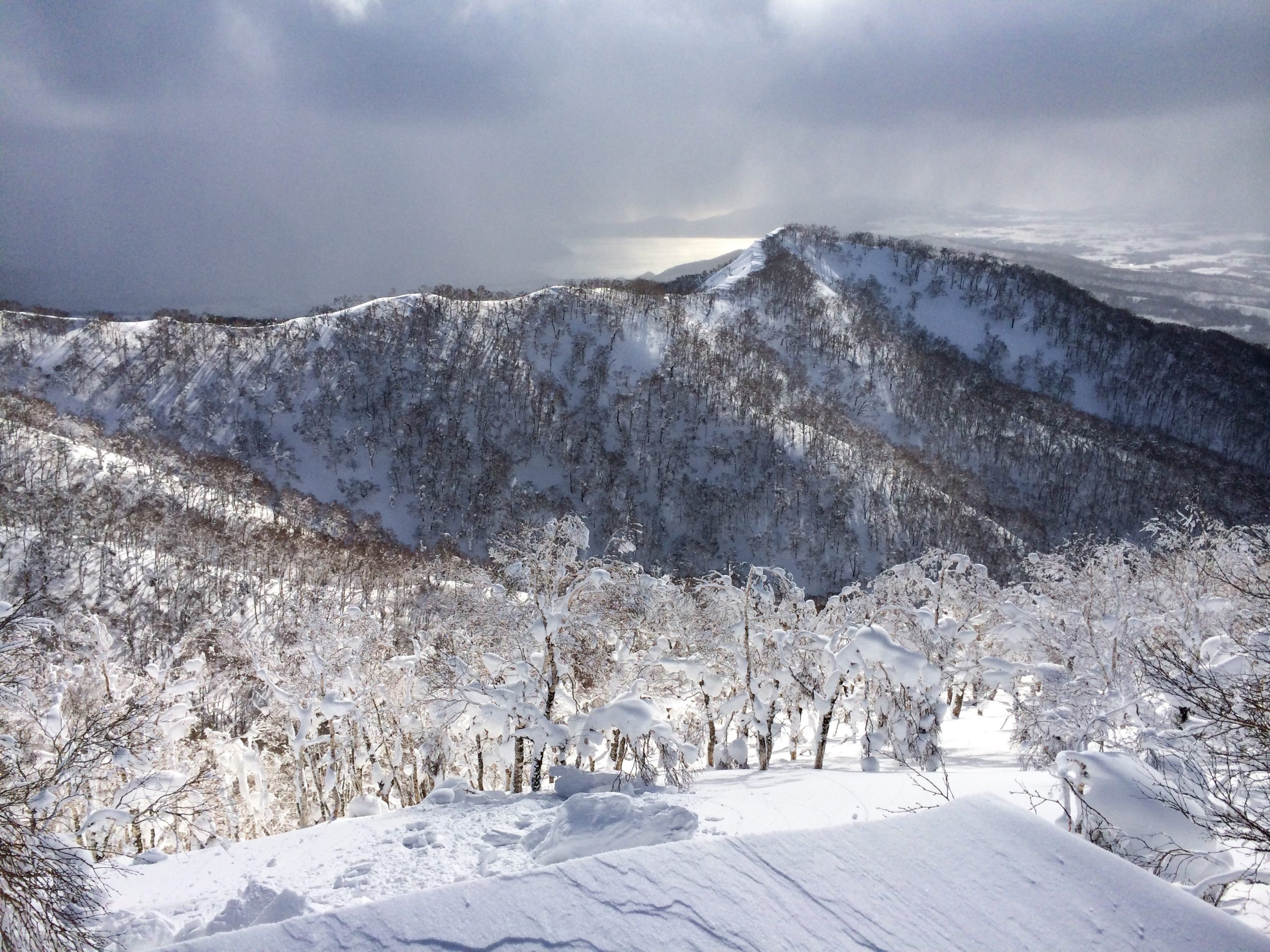 The view from Rusutsu, only 40 mins from Niseko