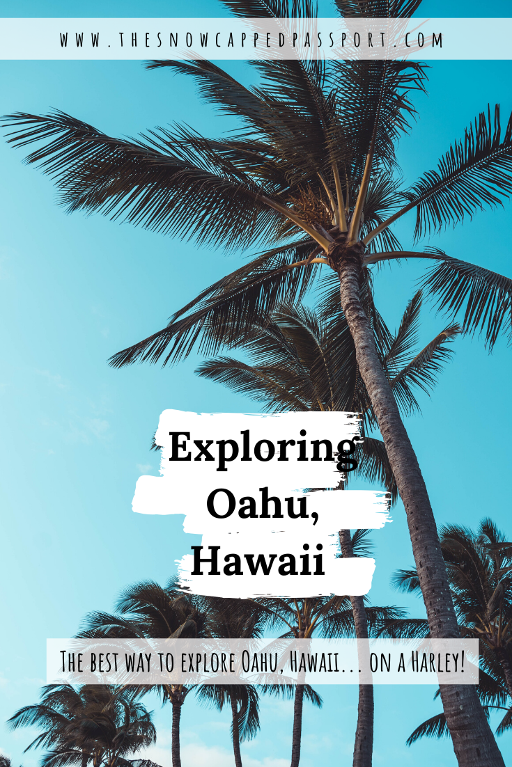 If you've ever wondered what the best way to explore Oahu is, you've come to the right place. This post is all about exploring Oahu on a Harley Davidson!