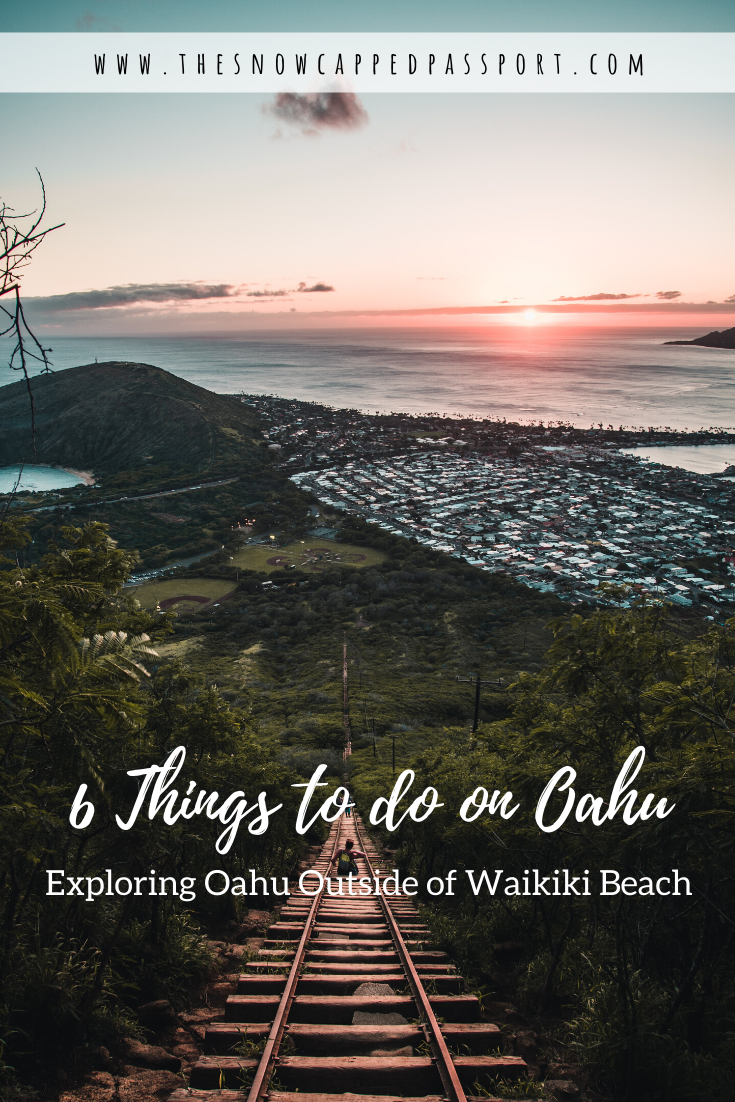 Looking for things to do in Hawaii? Oahu has so much to offer outside of Waikiki. Check out my top 6 recommendations here!